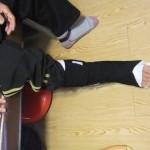 83歳の右アキレス腱断裂3